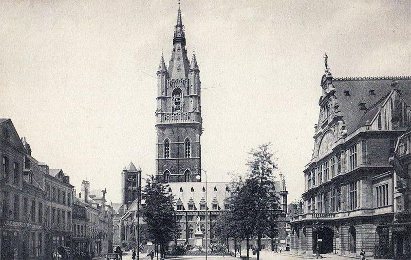 Колокольная башня в Бельгии
