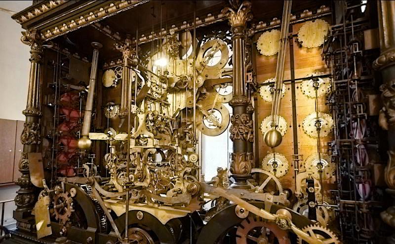 Механизм астрономических часов