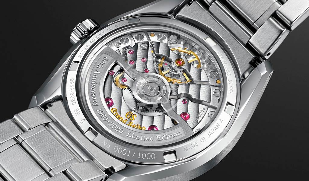 Новые часы Grand Seiko 60th Anniversary