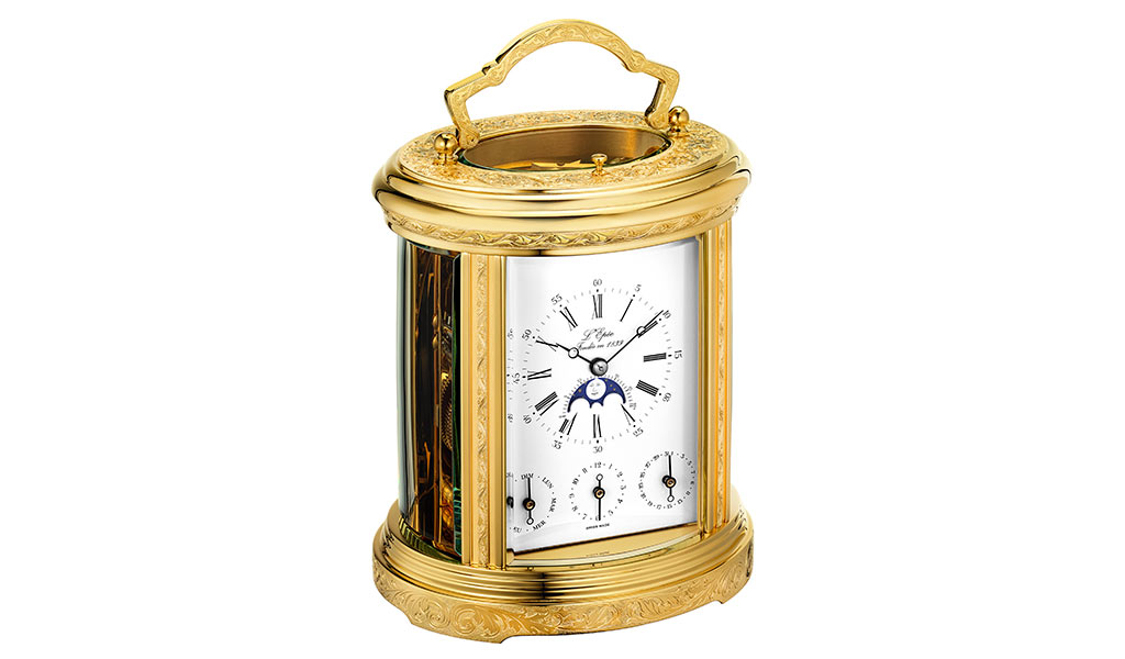 Настольные часы Ovale Tourbillon