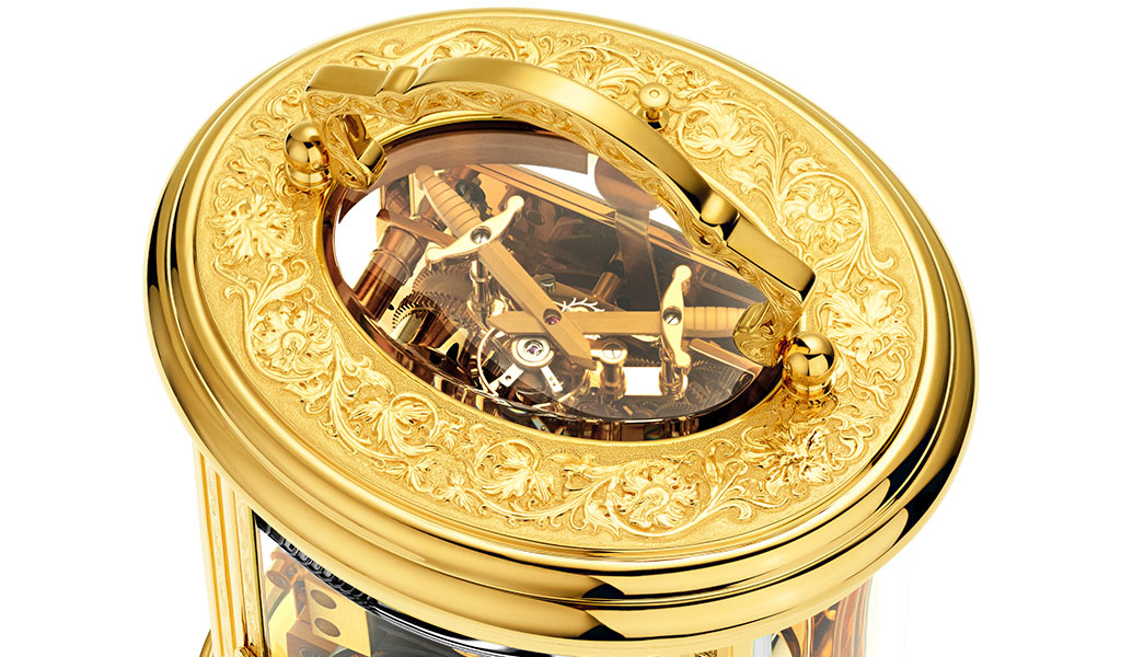 Офицерские часы Ovale Tourbillon