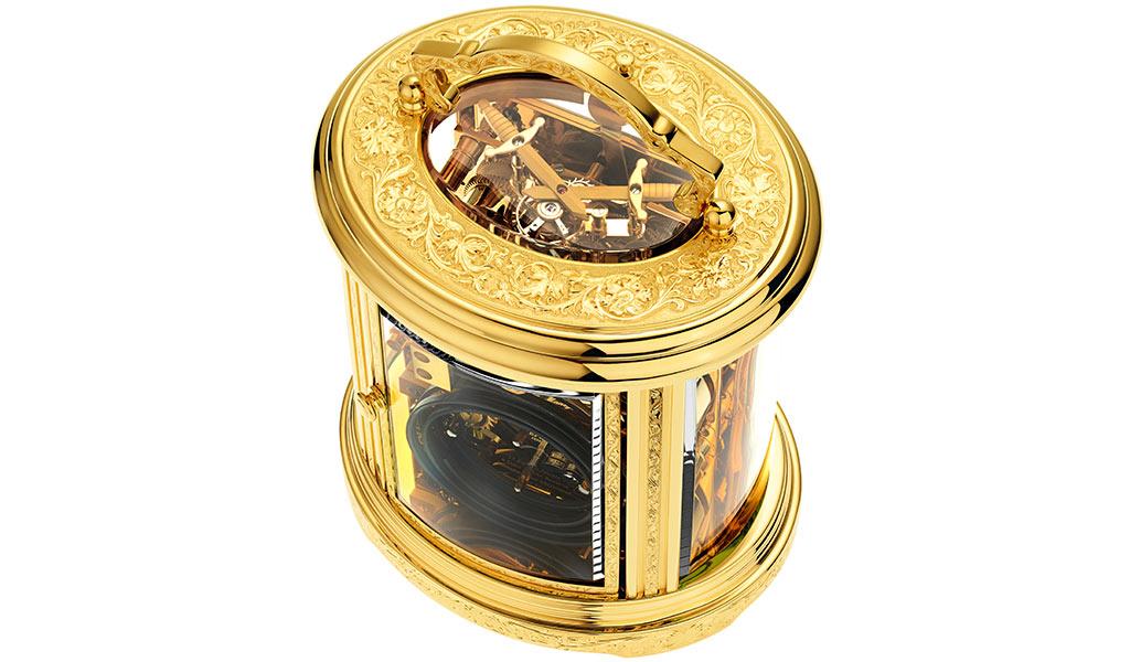 Часы Ovale Tourbillon