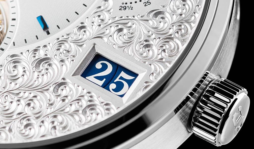 Часы с турбийоном PanoLunar Tourbillon