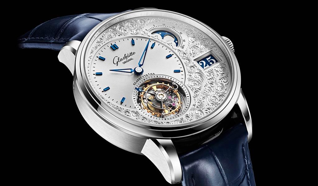 Наручные часы с турбийоном PanoLunar Tourbillon