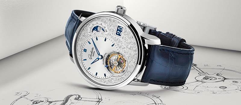 Новые наручные часы PanoLunarTourbillon от Glashütte Original