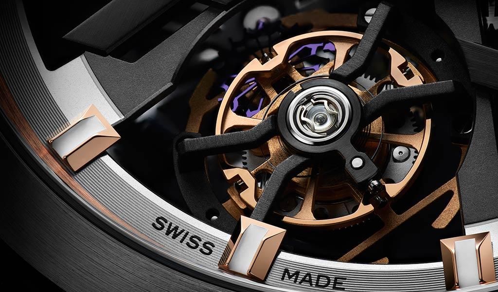 Часы с турбийоном Ulysse Nardin