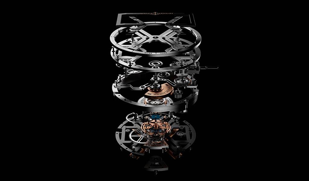 Часовой механизм Ulysse Nardin