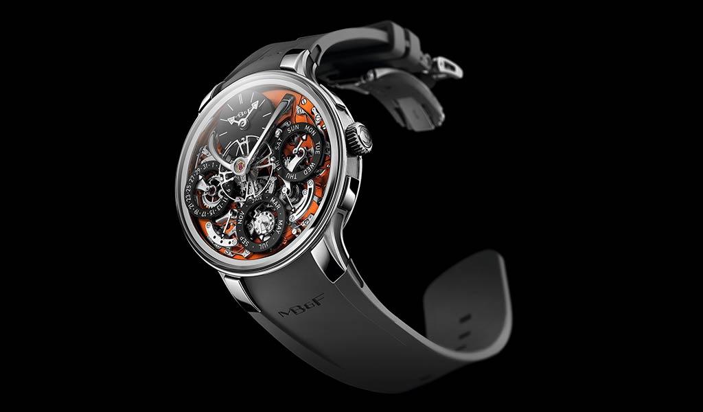 Новинка наручные часы MB&F LM Perpetual EVO