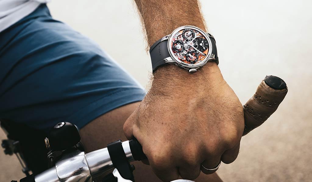 Новые наручные часы Legacy Machine Perpetual EVO