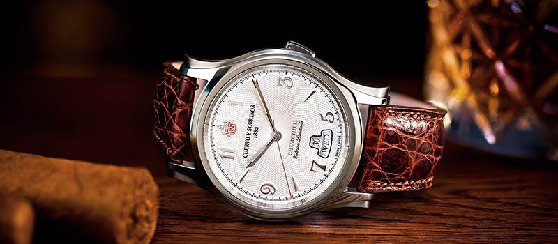 Наручные часы Robusto Churchill «Yalta Edition» от бренда Cuervo y Sobrinos