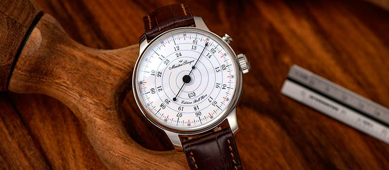 Новые однострелочные наручные часы  MeisterSinger Edition Bell Hora