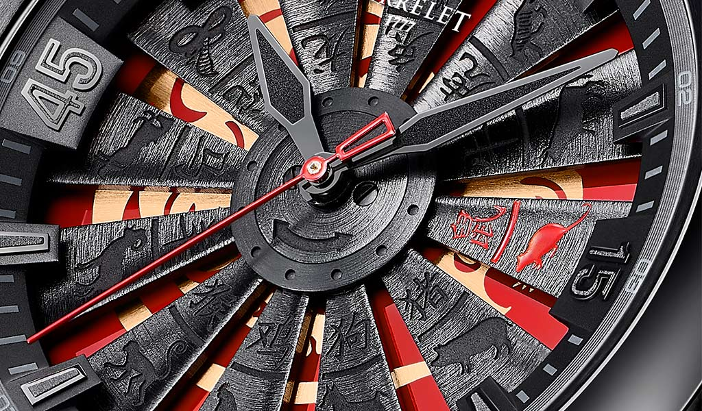 Часы Perrelet Turbine Rat Limited Edition