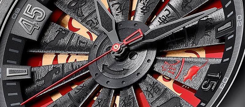Наручные часы Perrelet Turbine Rat Limited Edition посвященные году Крысы