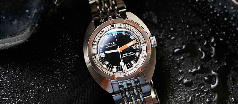 Новые наручные часы для дайвинга DOXA SUB 300 COSC