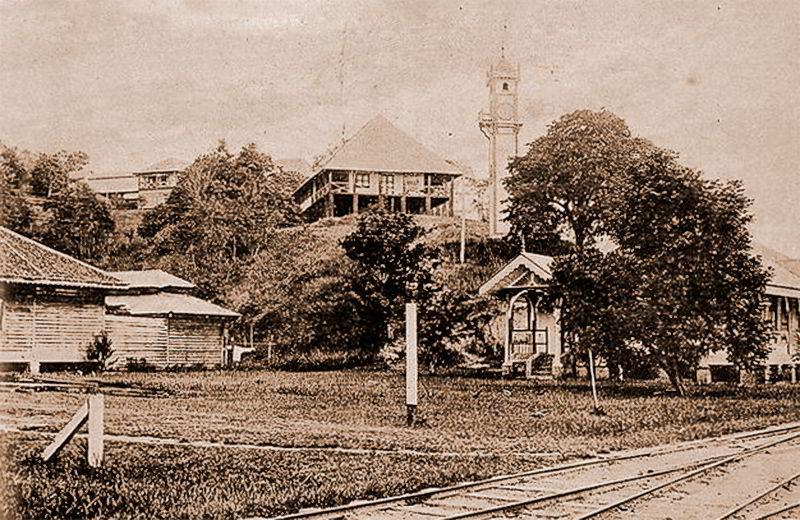 Башенные часы Борнео