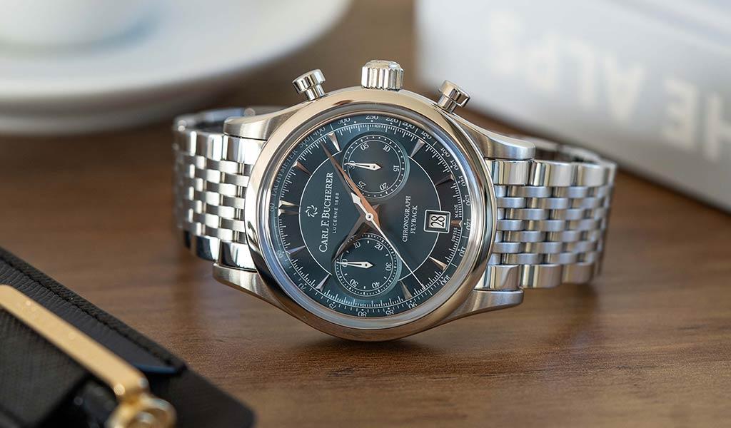 Новые наручные часы Carl F. Bucherer
