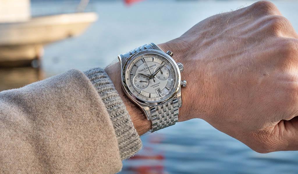 Новые механические часы Carl F. Bucherer