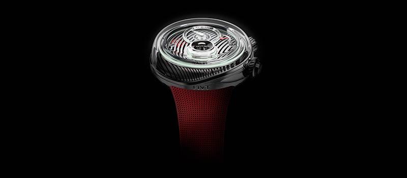 Наручные гидромеханические часы Flow от компании HYT