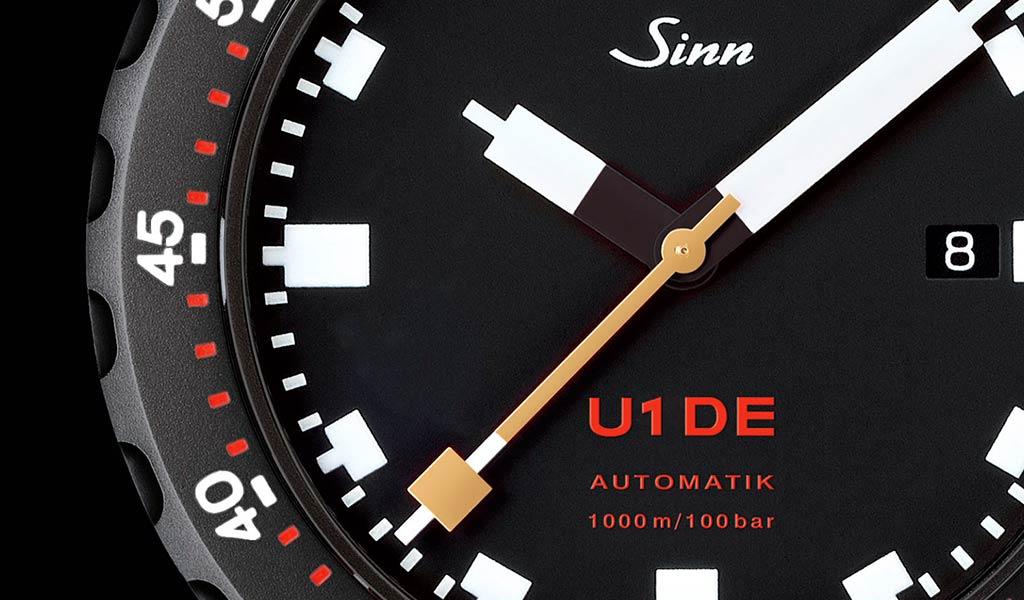 Немецкие наручные часы Sinn U1 DE