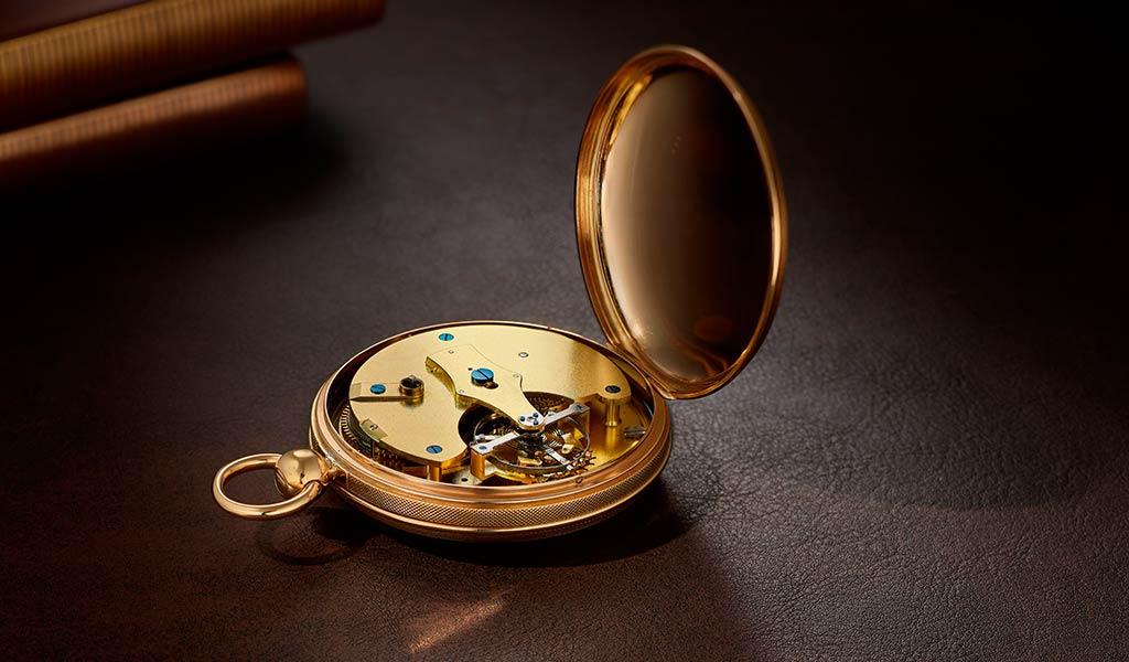 Часы Бреге с турбийоном