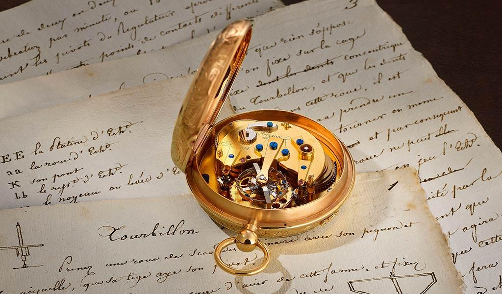 Часы с турбийоном Breguet