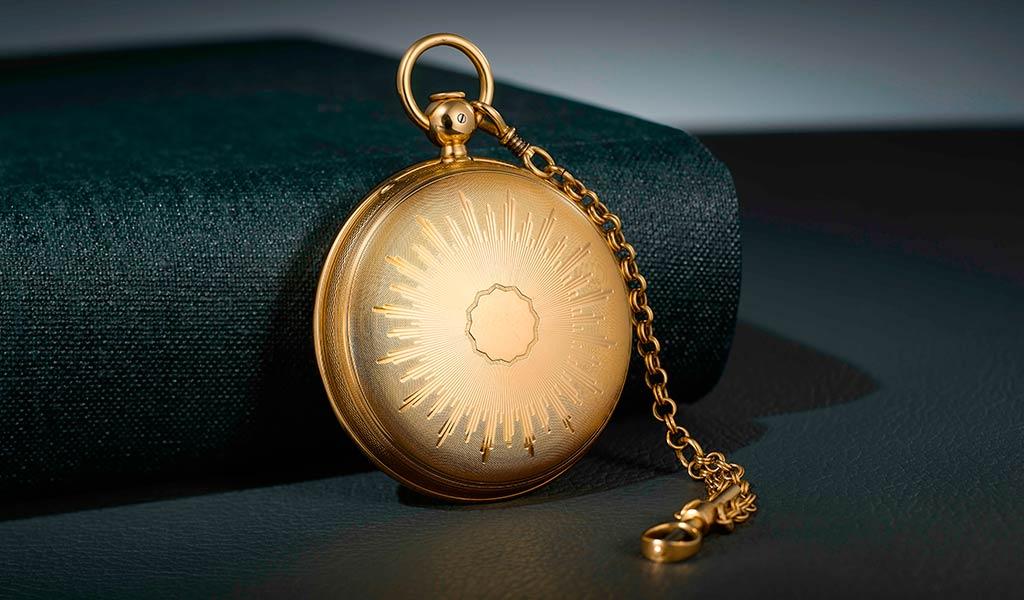 Механические часы турбийон Бреге