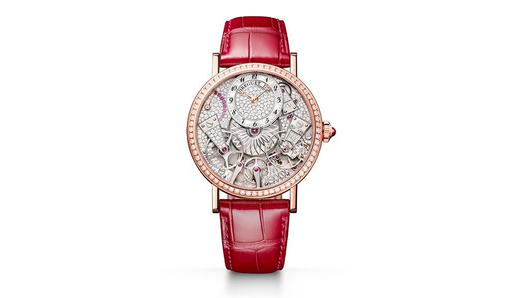 Новые наручные часы Breguet Tradition 7035