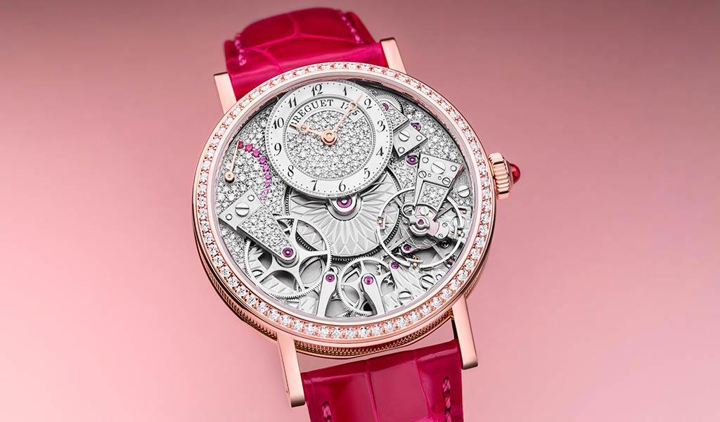 Швейцарские механические часы Breguet Tradition 7035