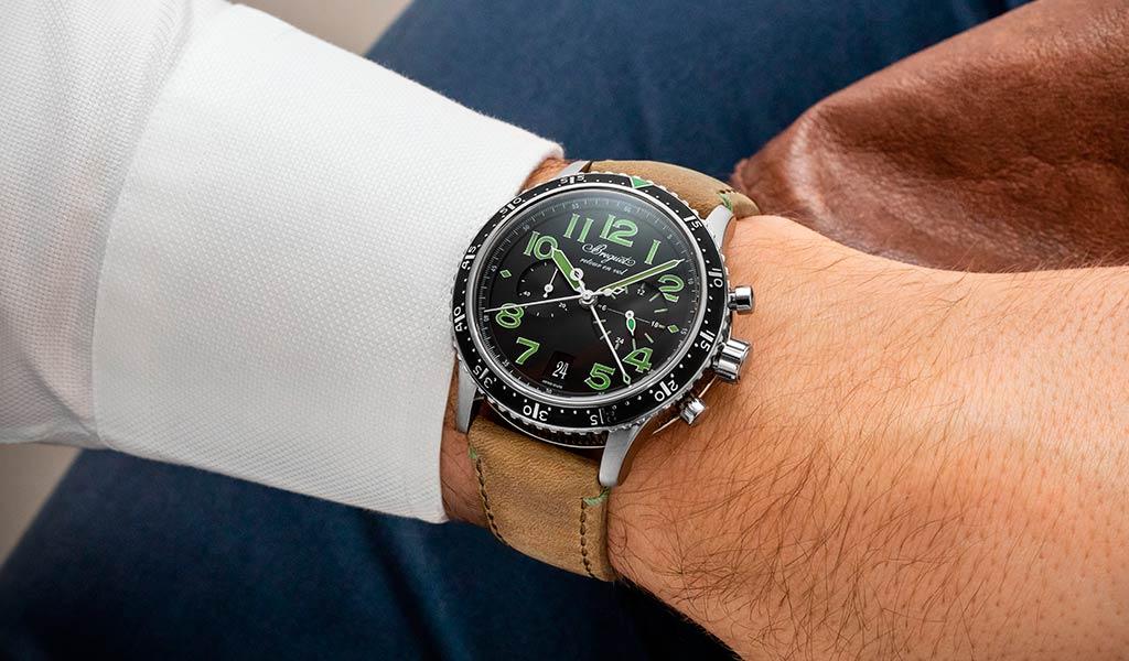 Швейцарский хронограф Breguet Type XXI 3815