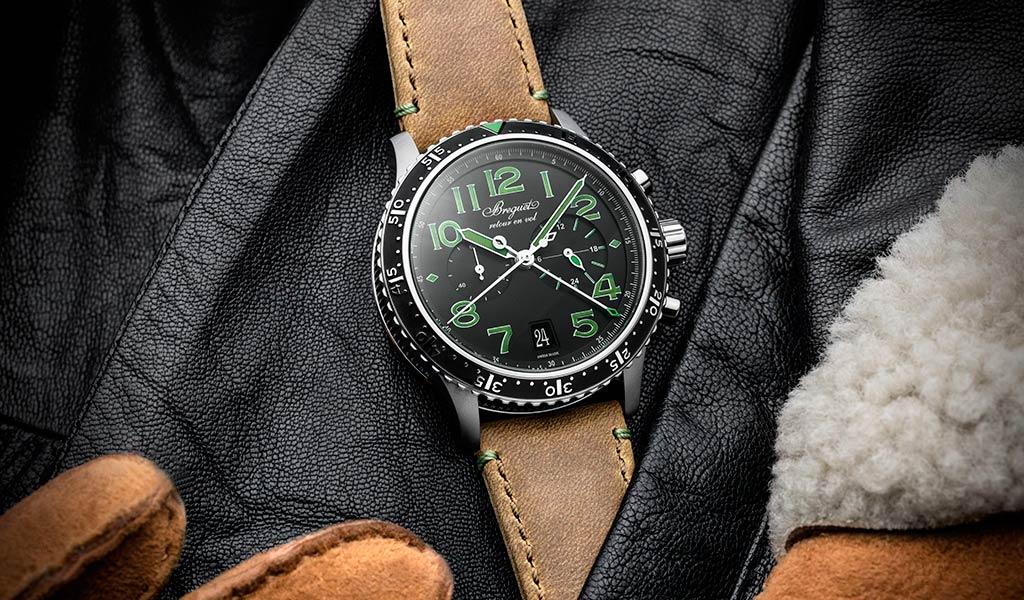 Швейцарский механический хронограф Breguet Type XXI 3815