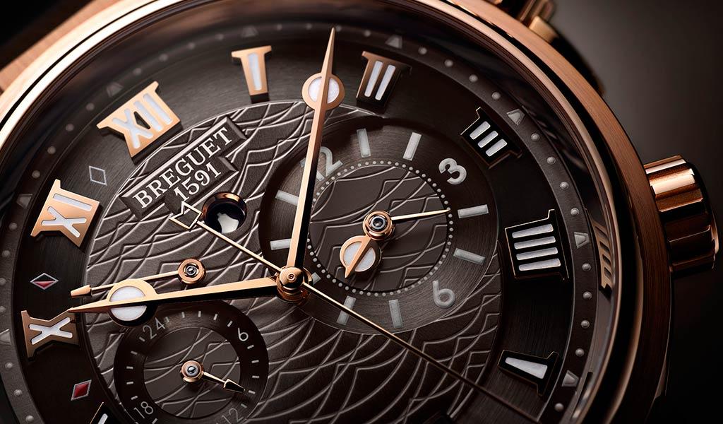 Новые механические часы Бреге