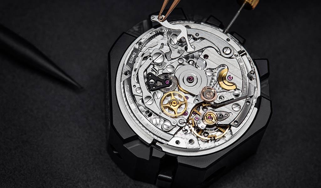 Швейцарский часовой механизм Breguet