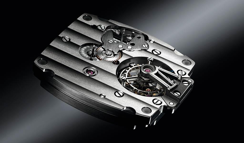 Часовой механизм с турбийоном Breguet