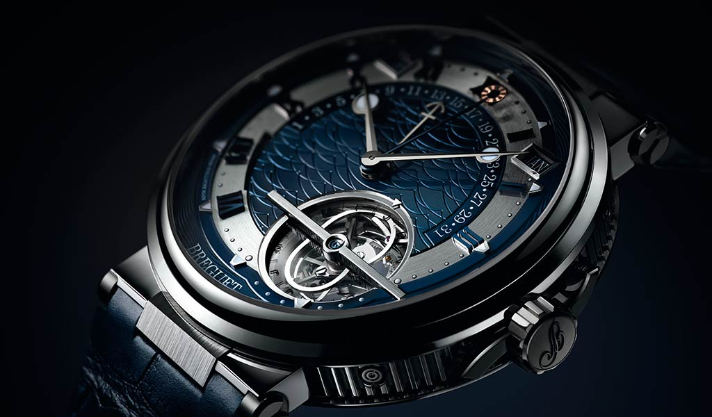 Швейцарские часы с турбийоном Breguet