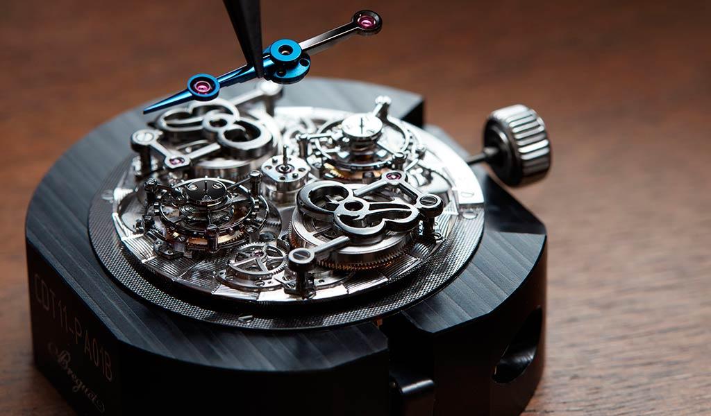 Наручные часы с турбийоном Breguet