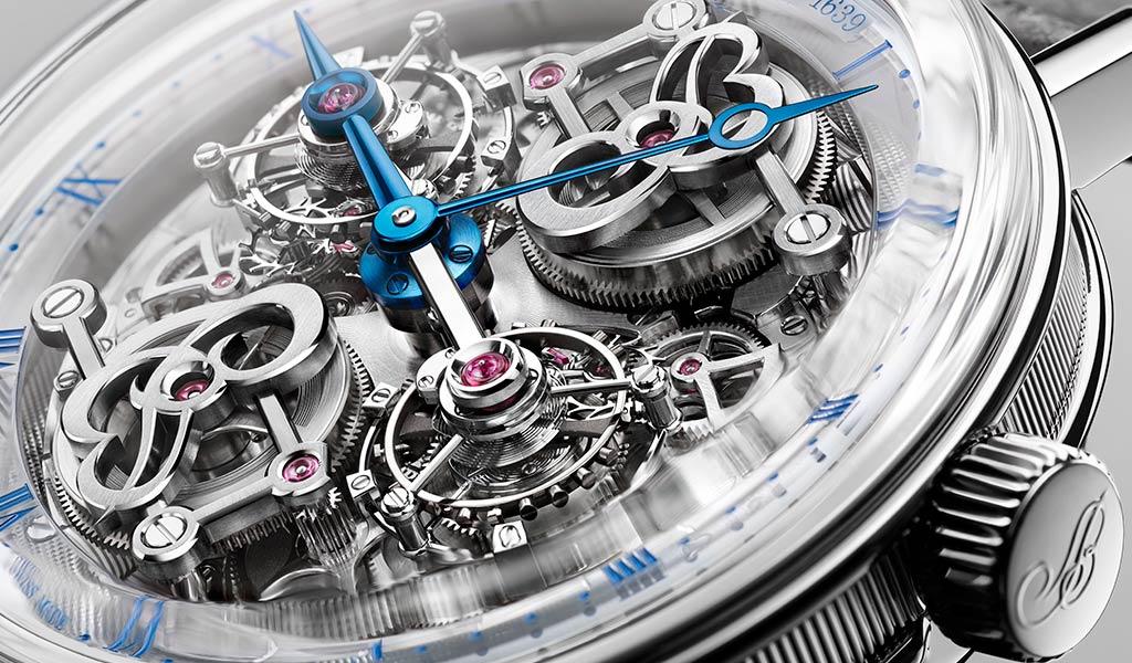 Наручные часы с двойным турбийоном Breguet