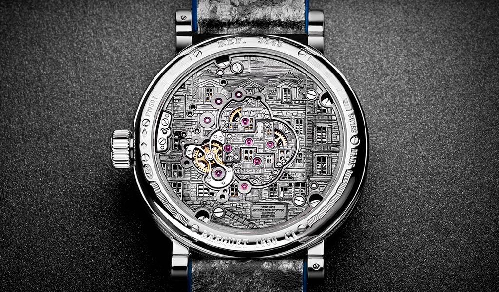 Часы с двойным турбийоном Classique Double Tourbillon Quai de l'Horloge