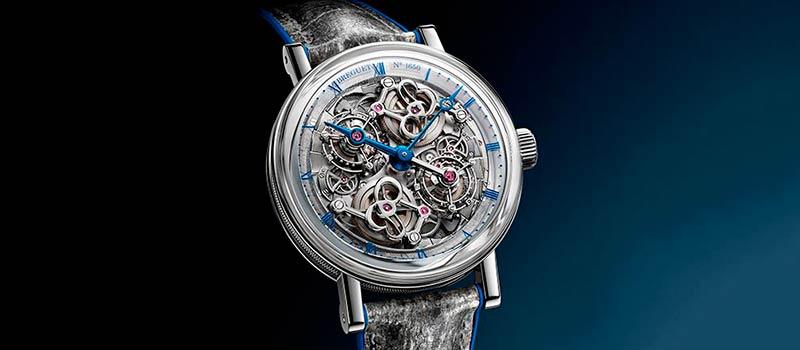Наручные часы Classique Double Tourbillon 5345 Quai de l'Horloge от Breguet