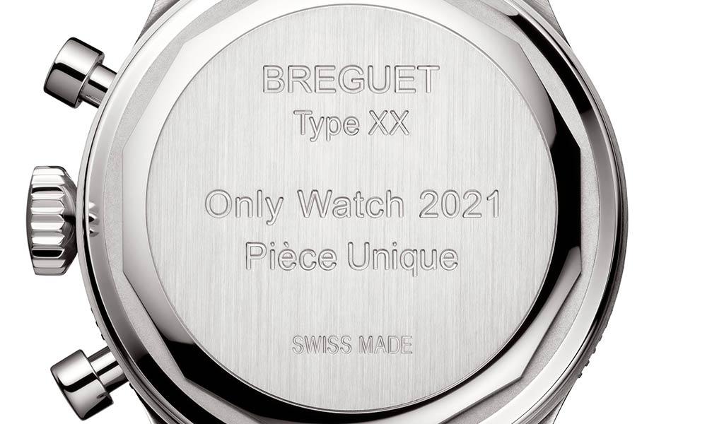 Швейцарский механический хронограф Breguet Type XX