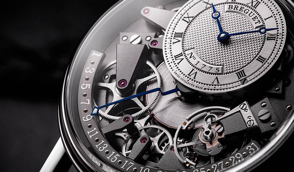 Часы с ретроградной стрелкой Breguet