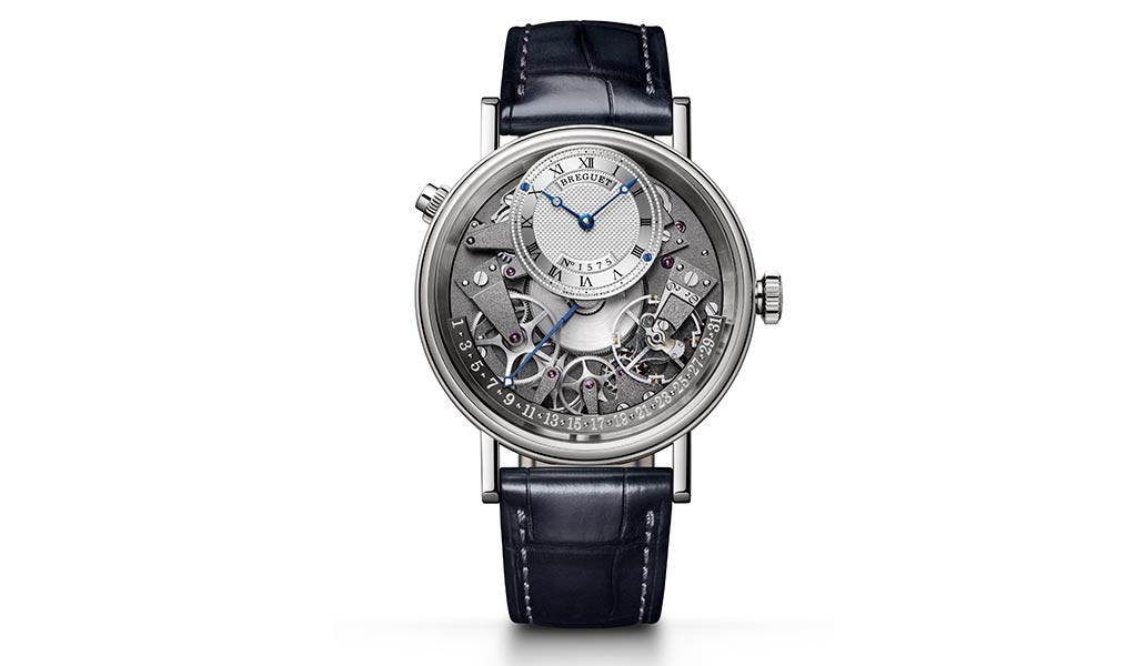 Новые наручные часы Breguet Tradition Quantieme Retrograde 7597