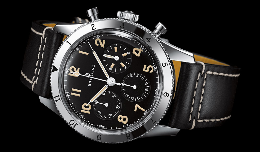 Часы Breitling avi ref. 765 1953 Re-Edition