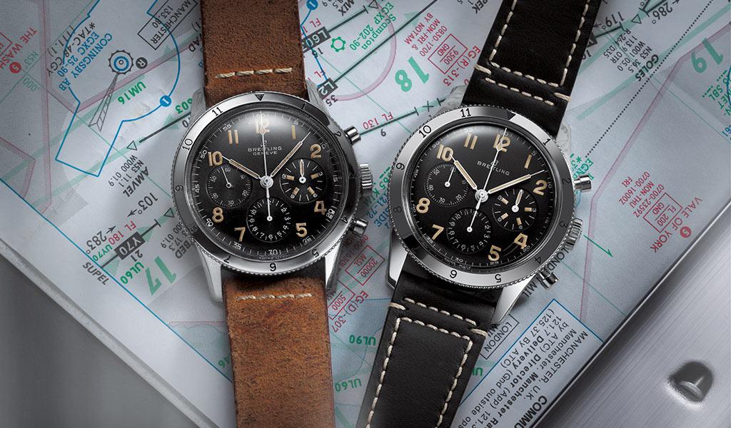 Наручные часы Breitling avi ref. 765 1953 Re-Edition