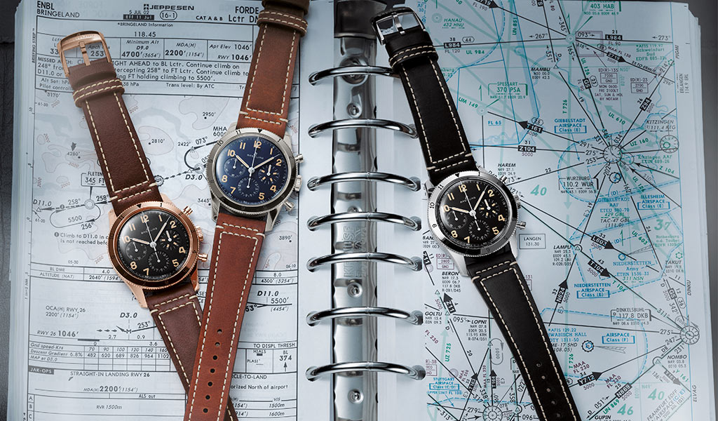 Часы наручные Breitling avi ref. 765 1953 Re-Edition