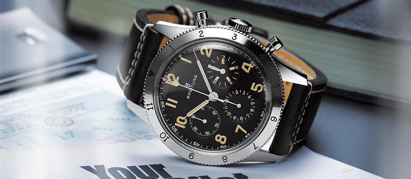 Часы Breitling AVI Ref. 765 1953 Re-Edition идеальный напарник в любой ситуации