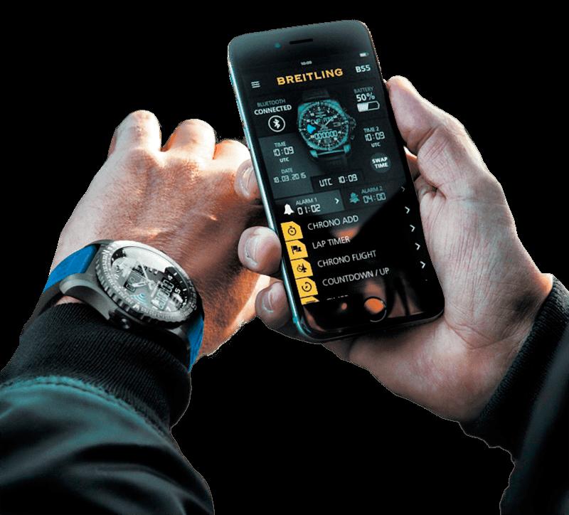 Умные часы Breitling