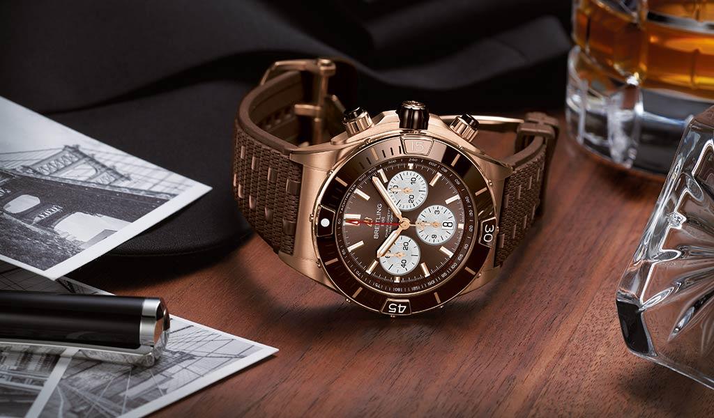 Новые механические часы Super Chronomat
