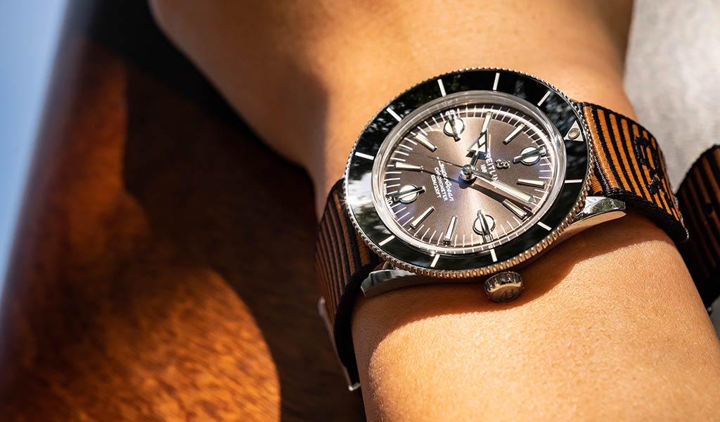 Новые механические часы Superocean Heritage '57 Outerknown