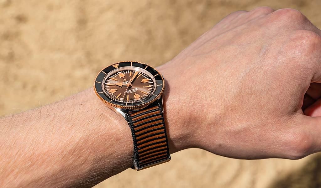 Новые наручные механические часы Breitling Superocean Heritage '57 Outerknown