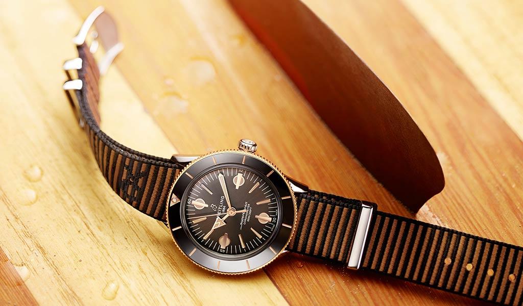 Часы механика Breitling Superocean Heritage '57 Outerknown
